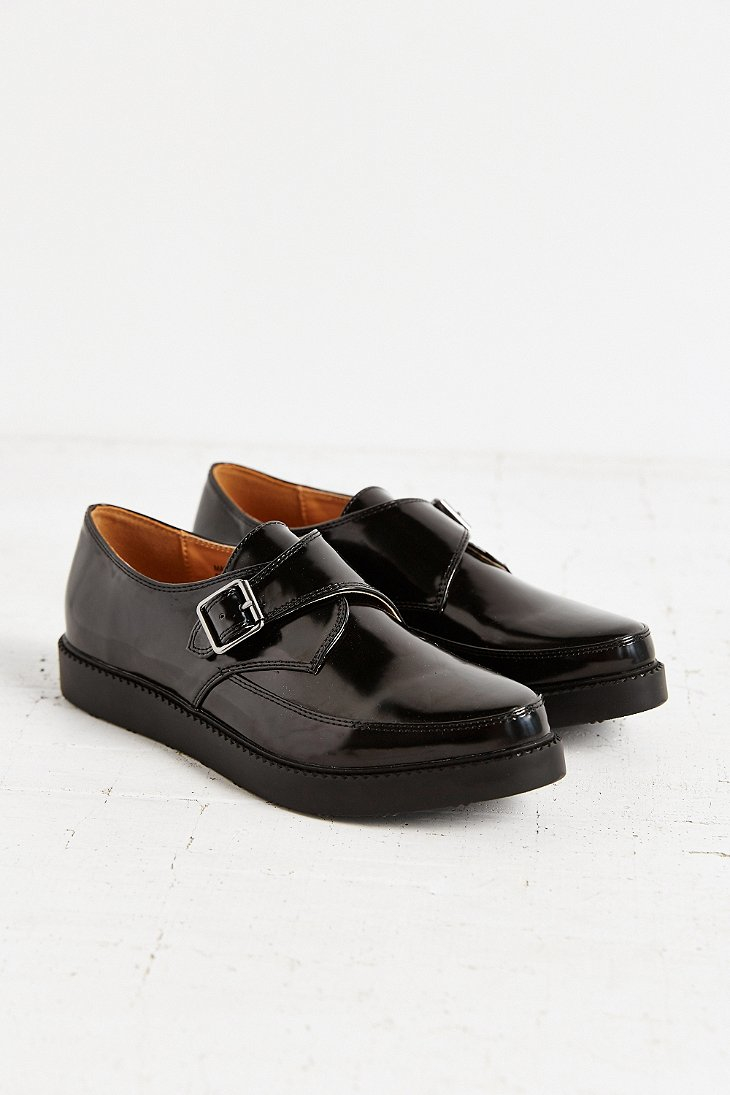 859b767eb7f Lyst - Urban Outfitters Monk Strap Platform Shoe in Black