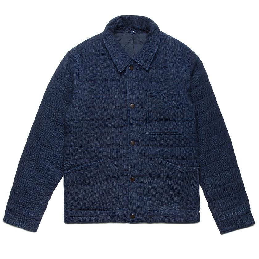 Edwin Dark Indigo Work Jacket in Blue for Men