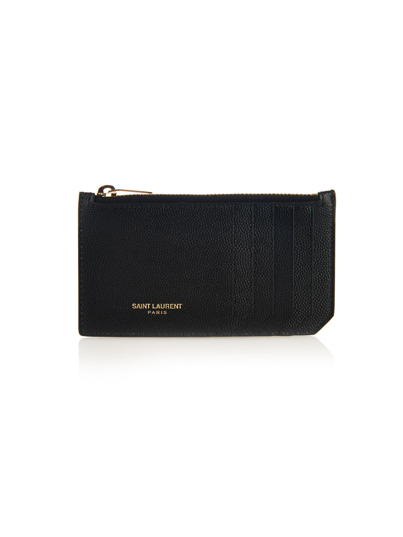 Paris leather zip-top wallet Saint Laurent 2SD04uls2Z