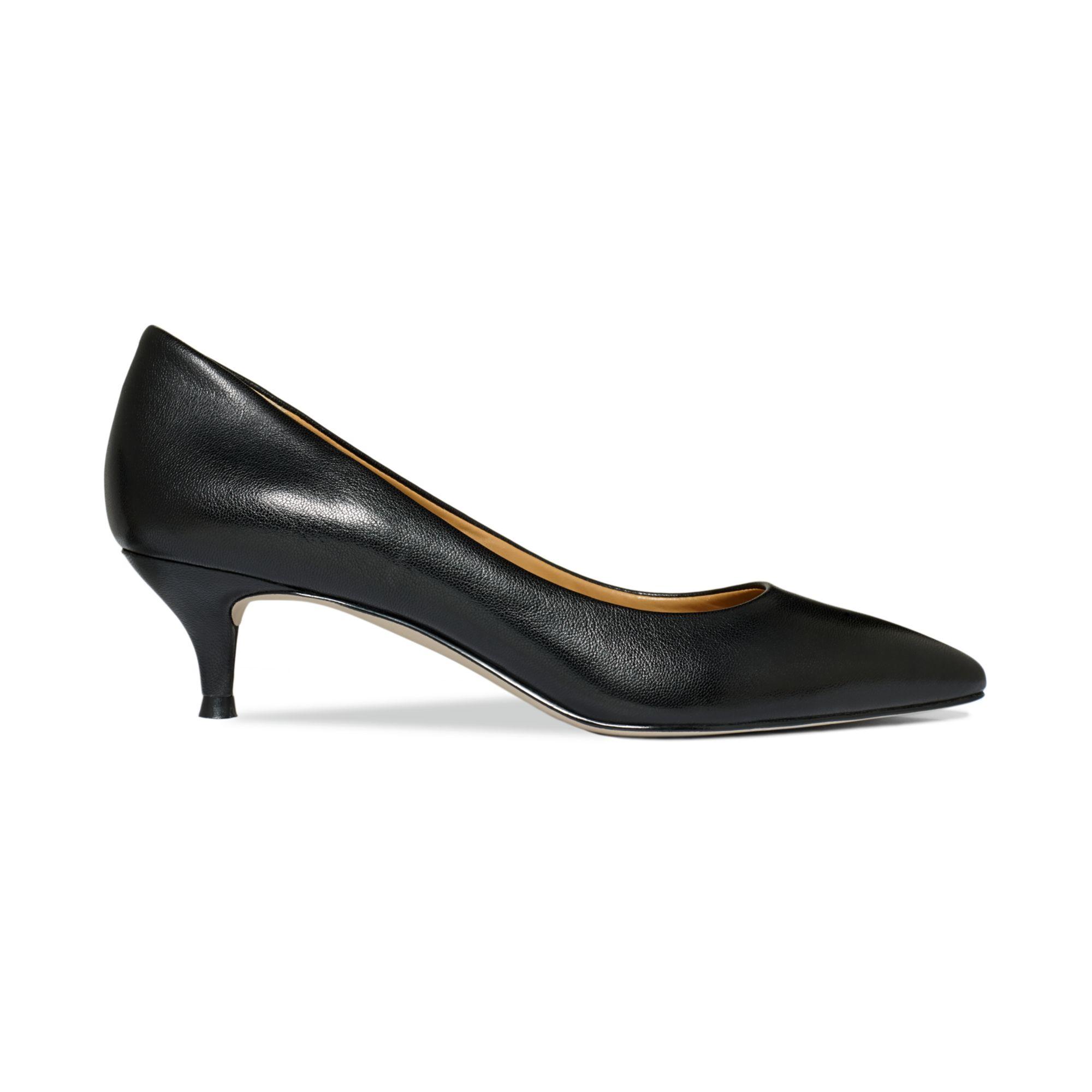 2eeeb50ad20 Lyst - Nine West Illumie Kitten Heel Pumps in Black