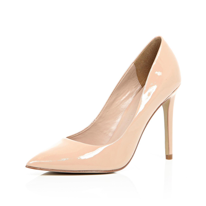 Patent Nude Heels - Is Heel