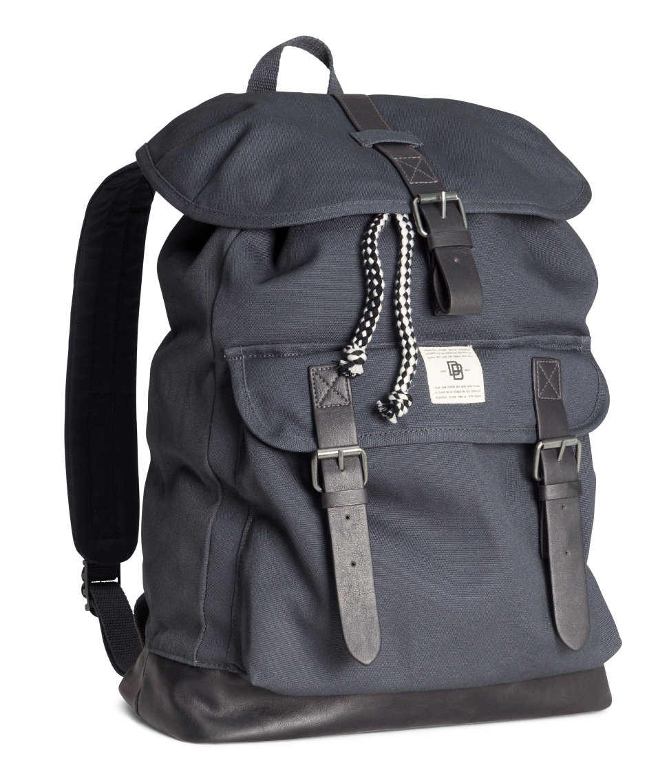 H&m Backpack in Gray for Men | Lyst