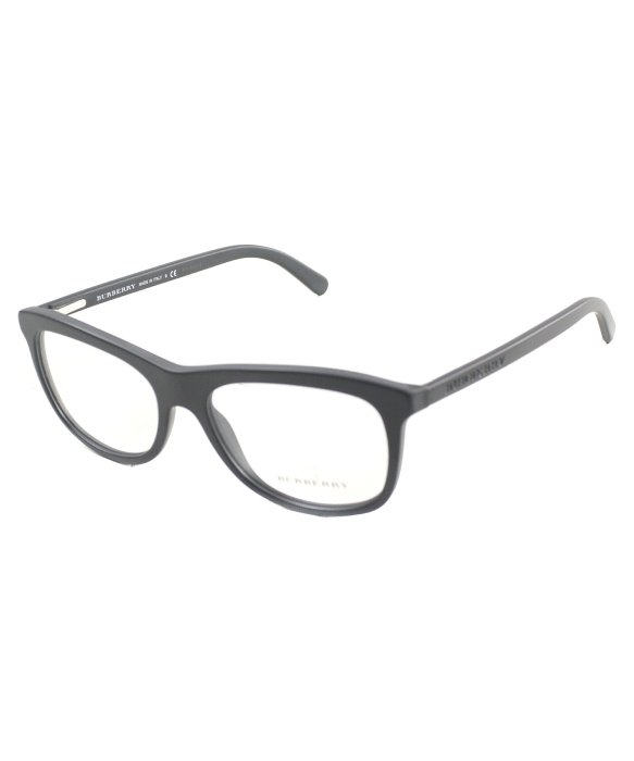 Burberry Be 2163 3464 Matte Black Rectangle Plastic ...