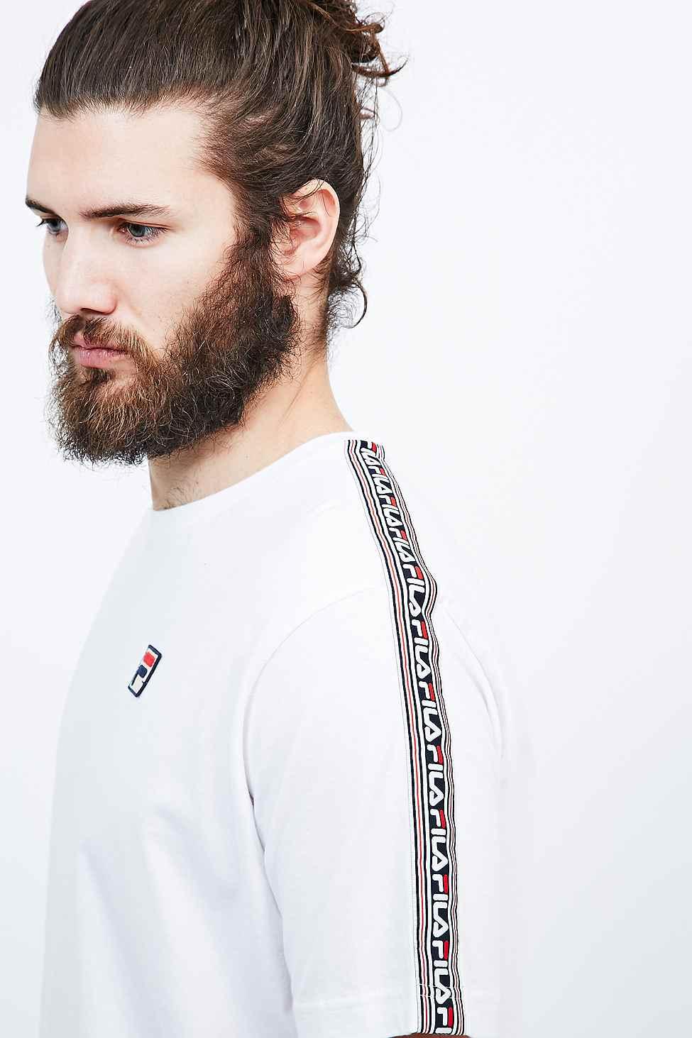 Fila Logo Tape T shirt  