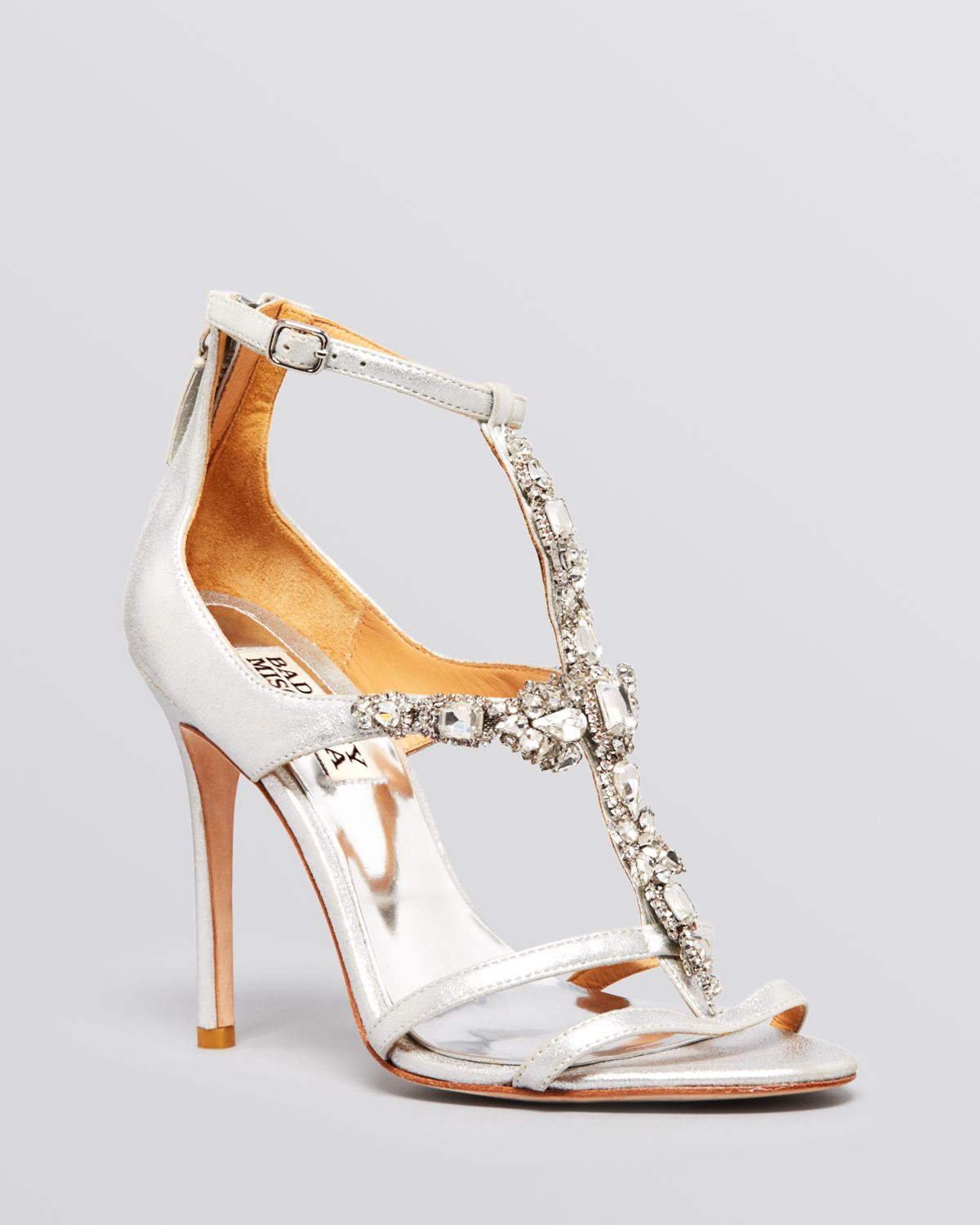 Badgley mischka Open Toe Evening Sandals Giovana Ii High Heel in