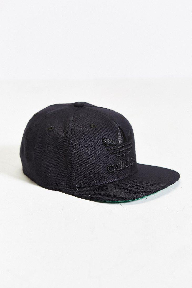 ad9b9915 ... best lyst adidas originals thrasher ii snapback hat in black for men  4d9c2 fc37f