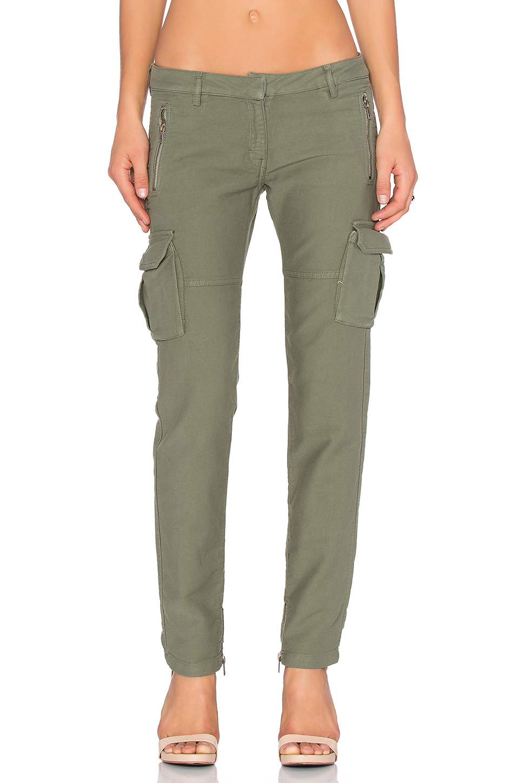 Etienne marcel Cargo Skinny Pant in Green | Lyst