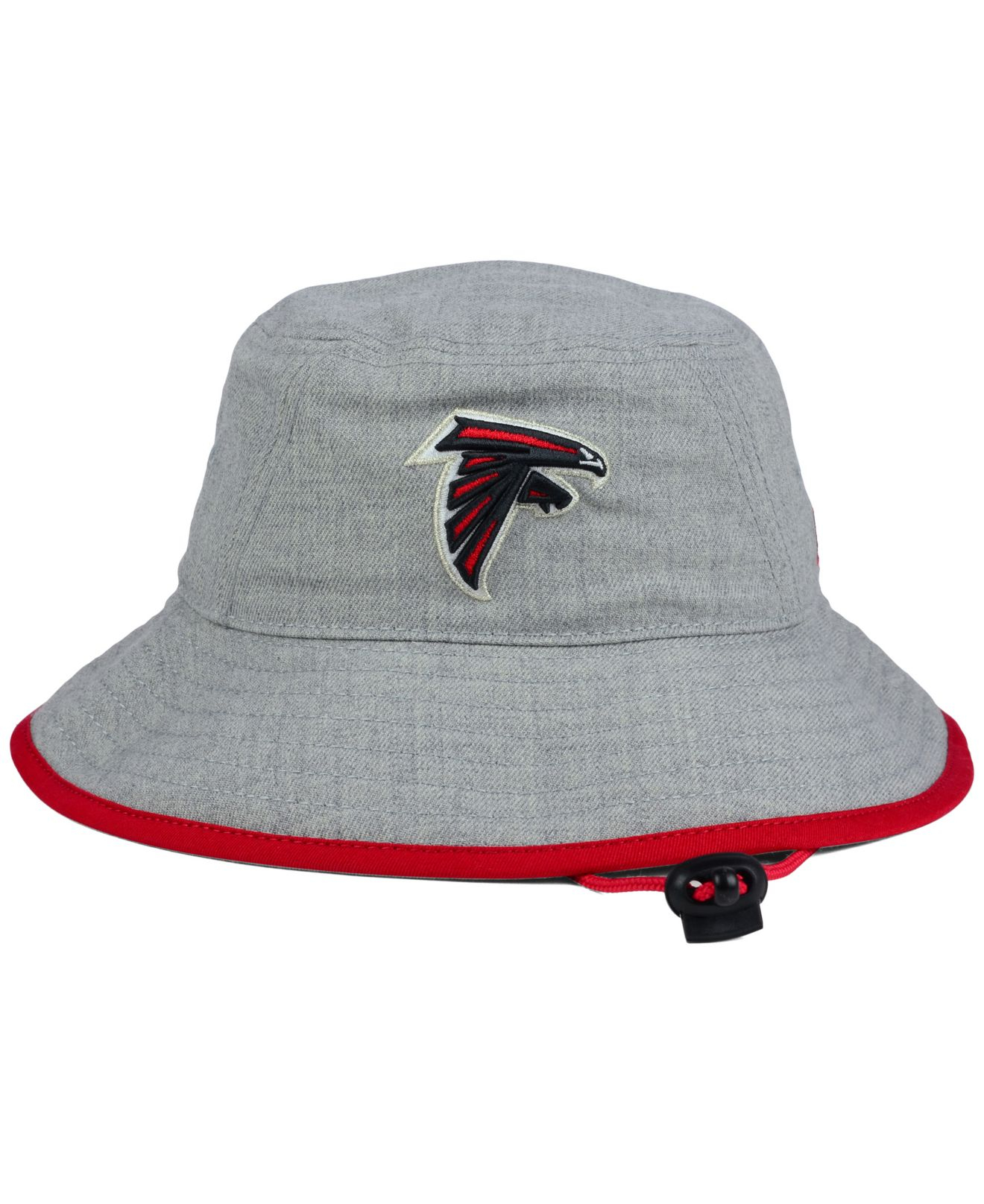 90a1452a01d ... norway spain lyst ktz atlanta falcons nfl heather gray bucket hat in  for men 2a687 a1027