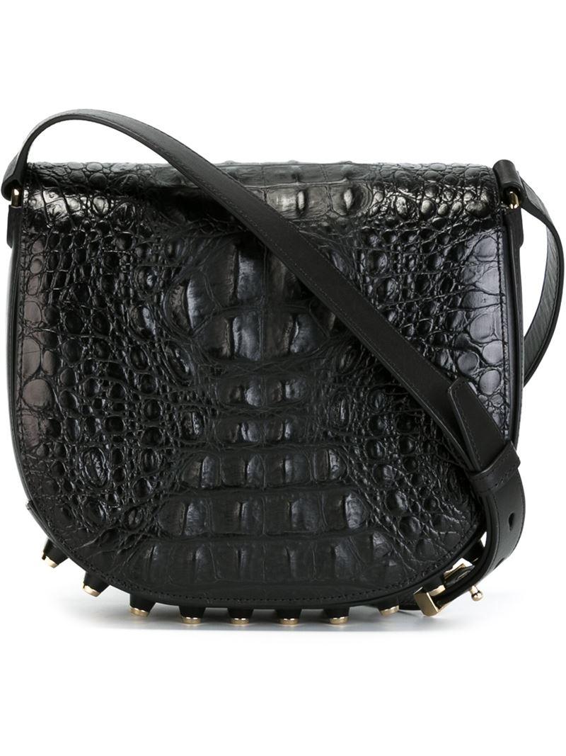 a7fe1c747962d Lyst - Alexander Wang  Lia Sling  Crossbody Bag in Black