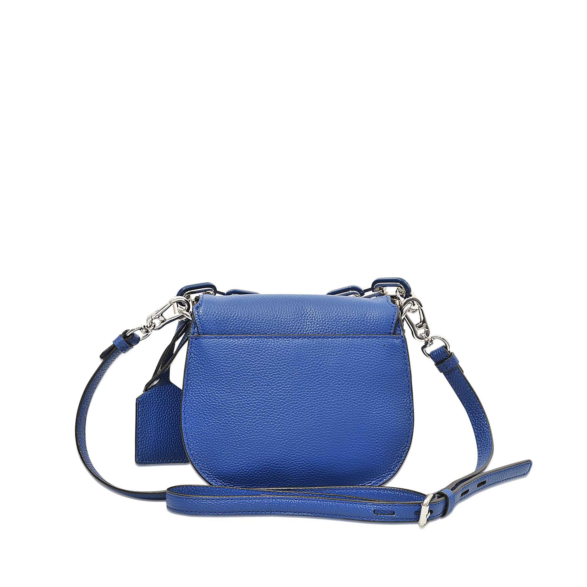 Karl lagerfeld K Grainy Small Satchel Bag in Blue | Lyst