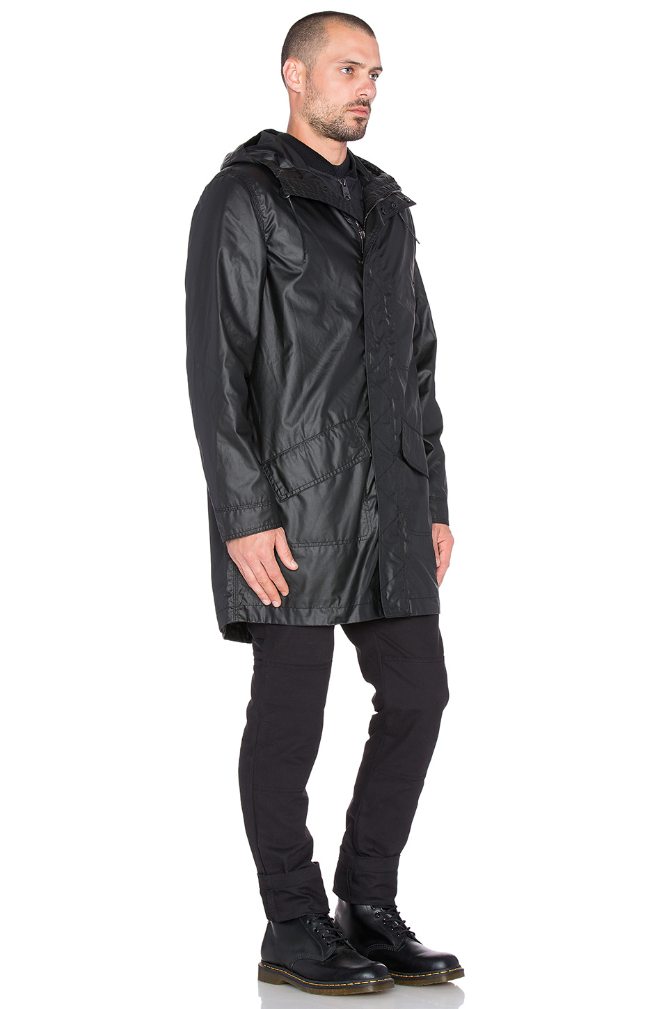 Dickies construct Rain Parka in Black for Men | Lyst