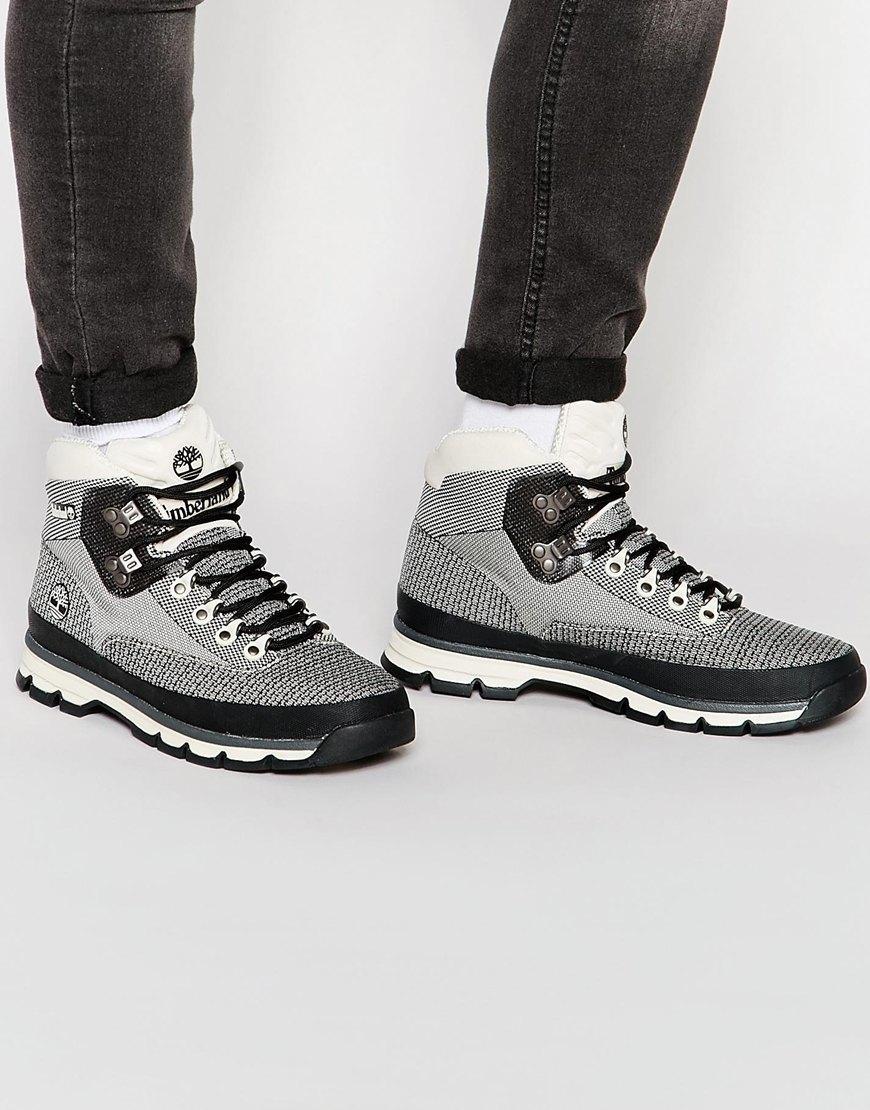 timberland euro hiker jacquard boot - men's
