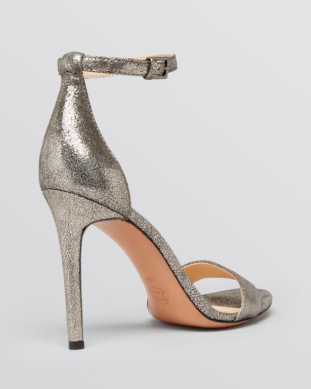 0600cf43eb5 Lyst - Tory Burch Open Toe Ankle Strap Evening Sandals - Keri High ...