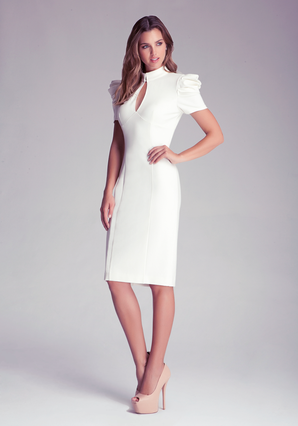 New York And Company White Dress