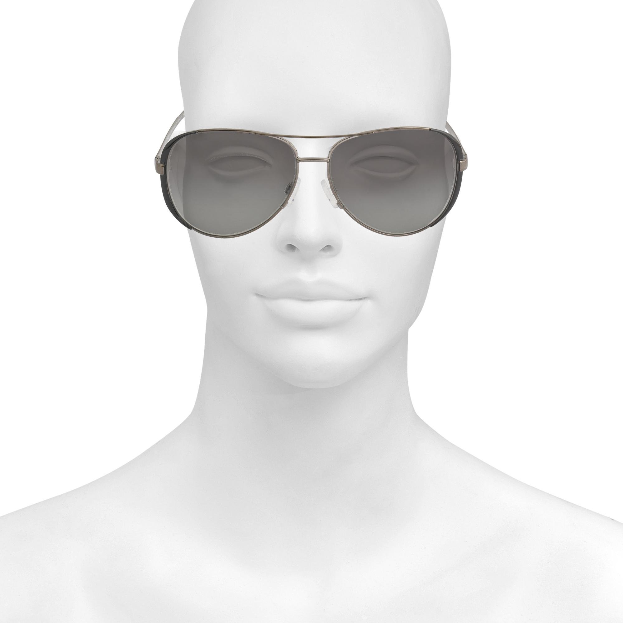 6779c1990e1 Lyst - MICHAEL Michael Kors Chelsea Gunmetal-black Sunglasses Mk5004 ...