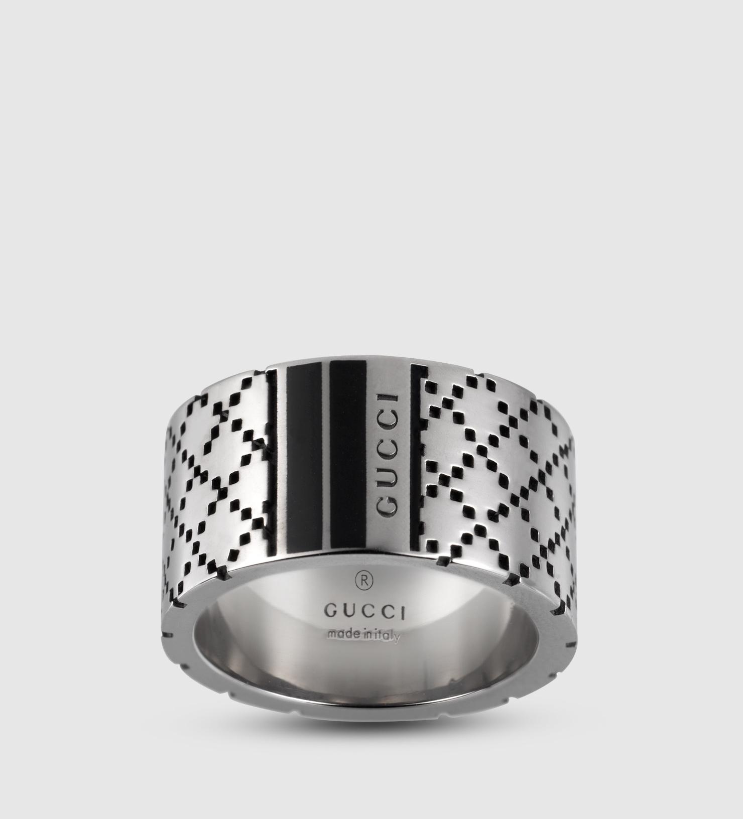 Gucci Diamantissima Silver Ring
