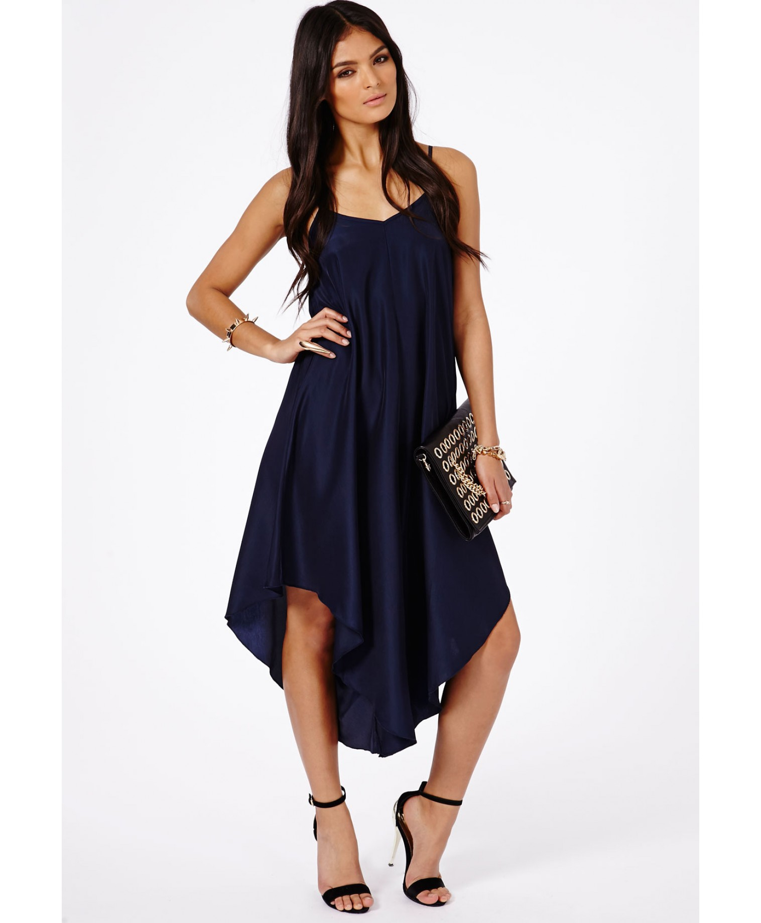 20f546468d Missguided Rana Trapeze Jumpsuit in Blue - Lyst