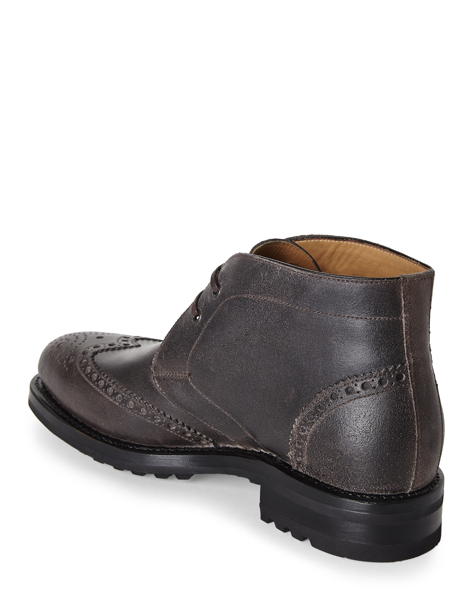 harry s of grey bruce boots in gray for lyst
