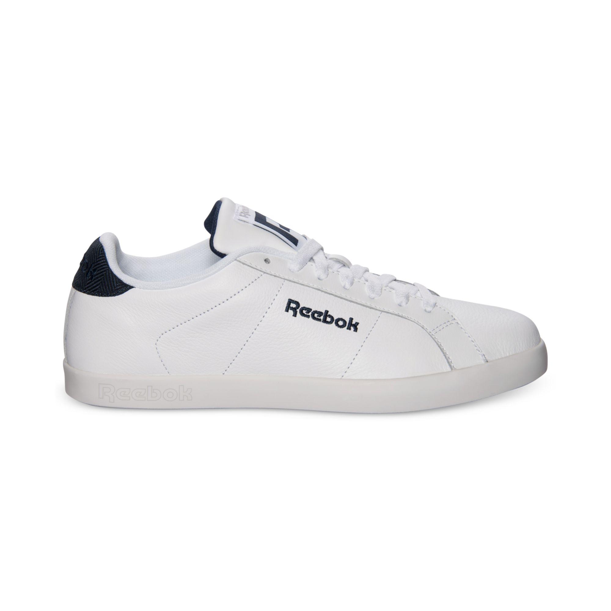 Lyst Reebok Sh Newport Low Casual Sneakers In White For Men