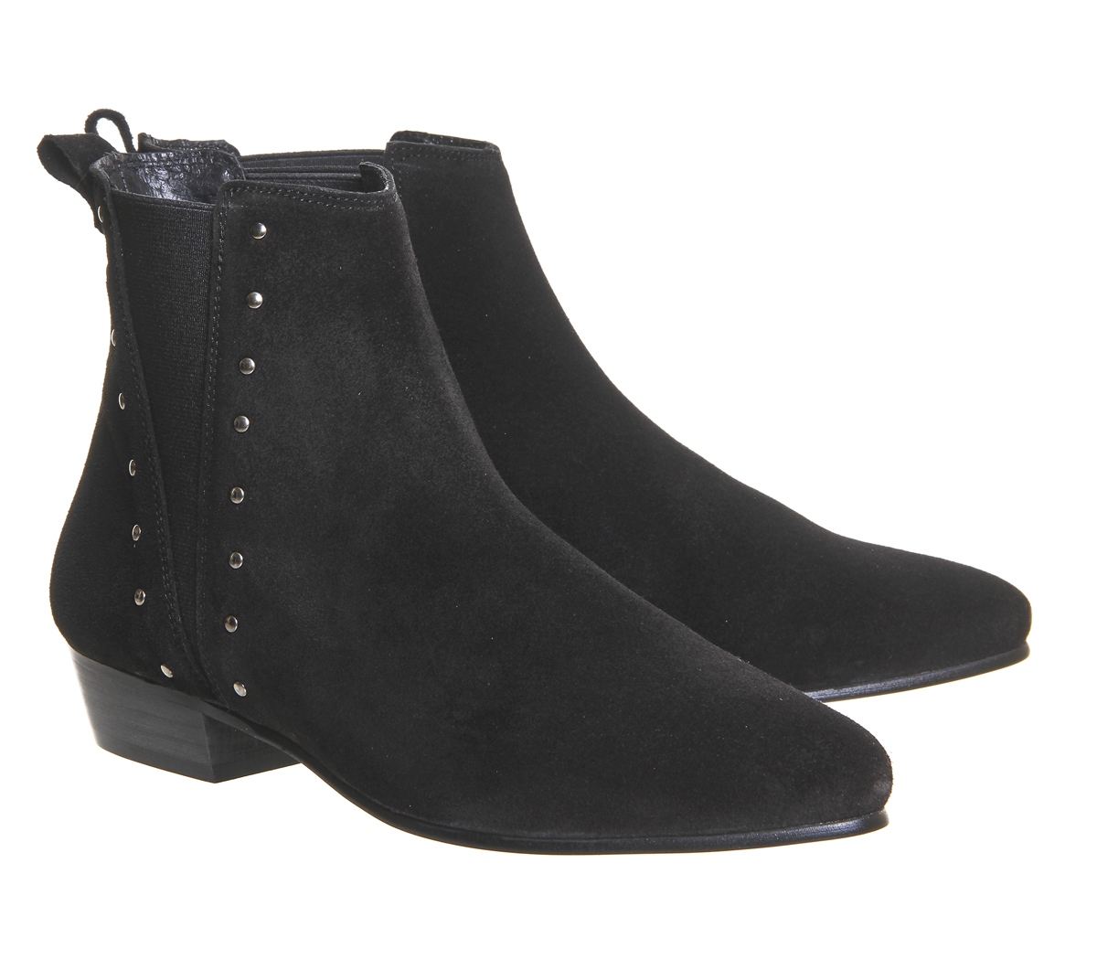 office jamesons stud chelsea boots in black lyst