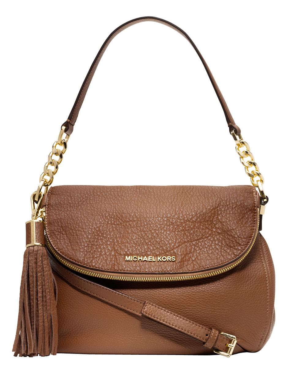 eef29b159220 Michael Kors Brown Leather Shoulder Bag | Stanford Center for ...