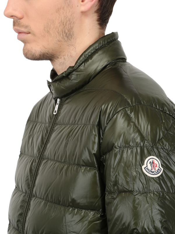 moncler military green jacket
