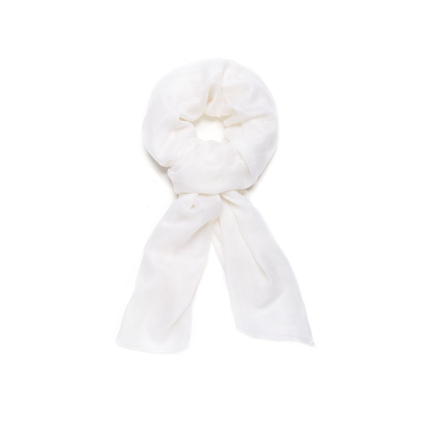 theory novelty scarf in feather in white lyst