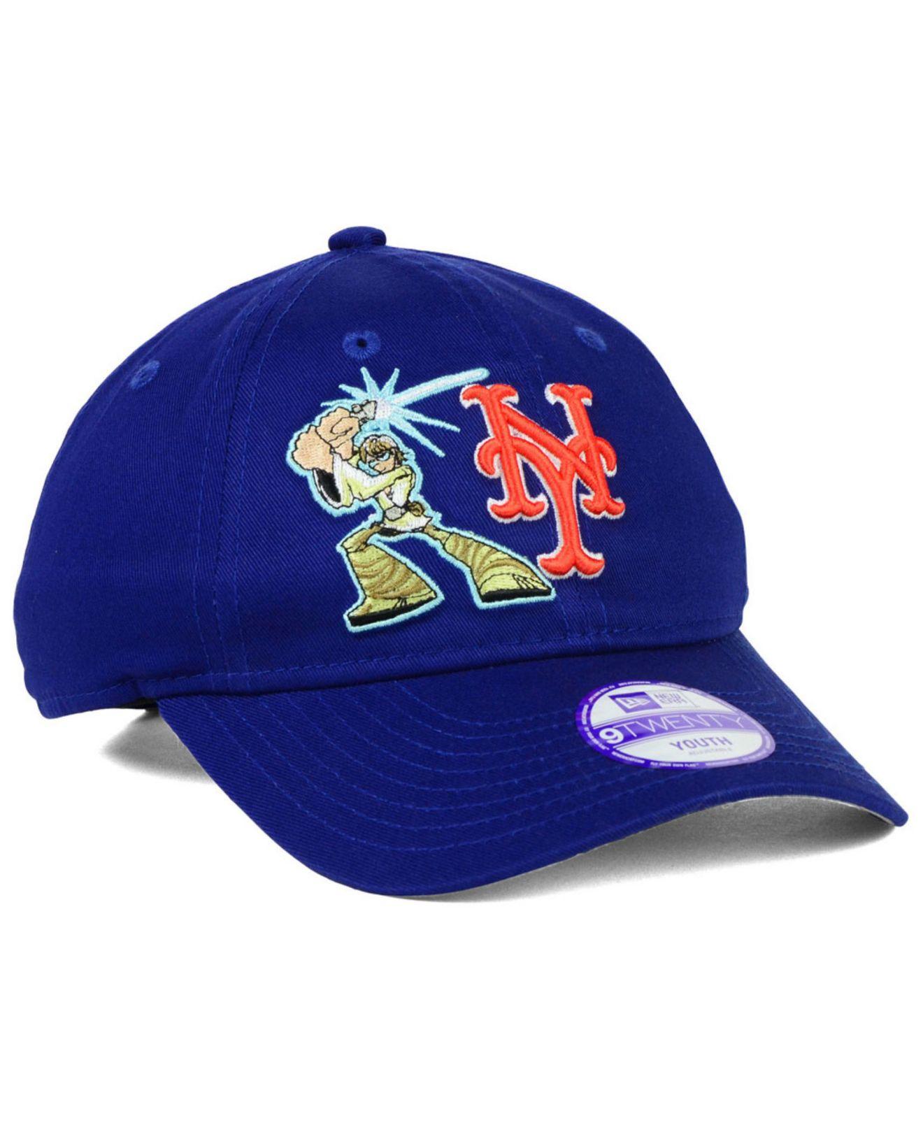 promo code 1475c 3f338 ... adjustable ff238 23161  authentic lyst ktz kids new york mets star wars  9twenty cap in blue for men d9f58