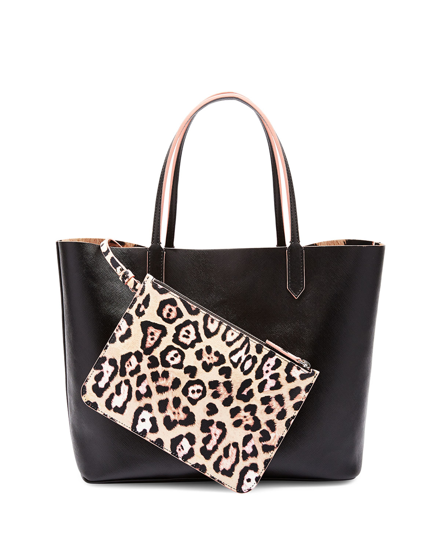 8dab4dd472 Lyst - Givenchy Antigona Large Leopard-interior Shopper Bag