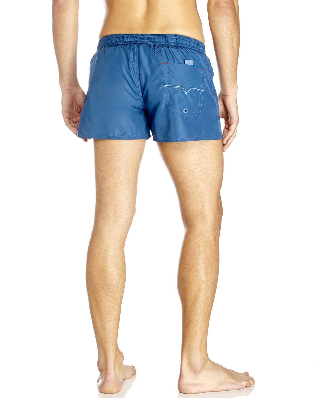e0643faa57 DIESEL Coralrif Swim Trunks in Blue for Men - Lyst