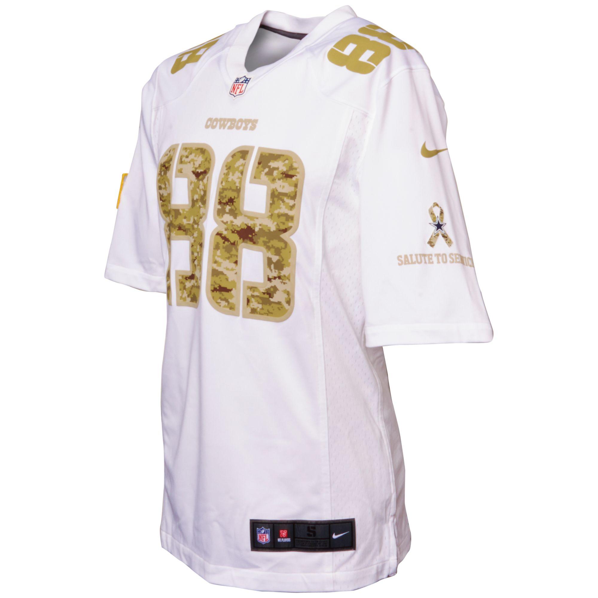 0ee912814 Lyst - Nike Dez Bryant Dallas Cowboys Jersey in Metallic for Men