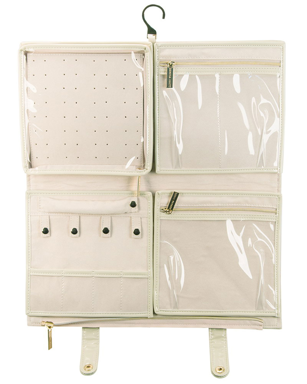 Cynthia Rowley Jewelry Organizer: Kendra Scott Jet-Set Coated Canvas Jewelry Organizer In