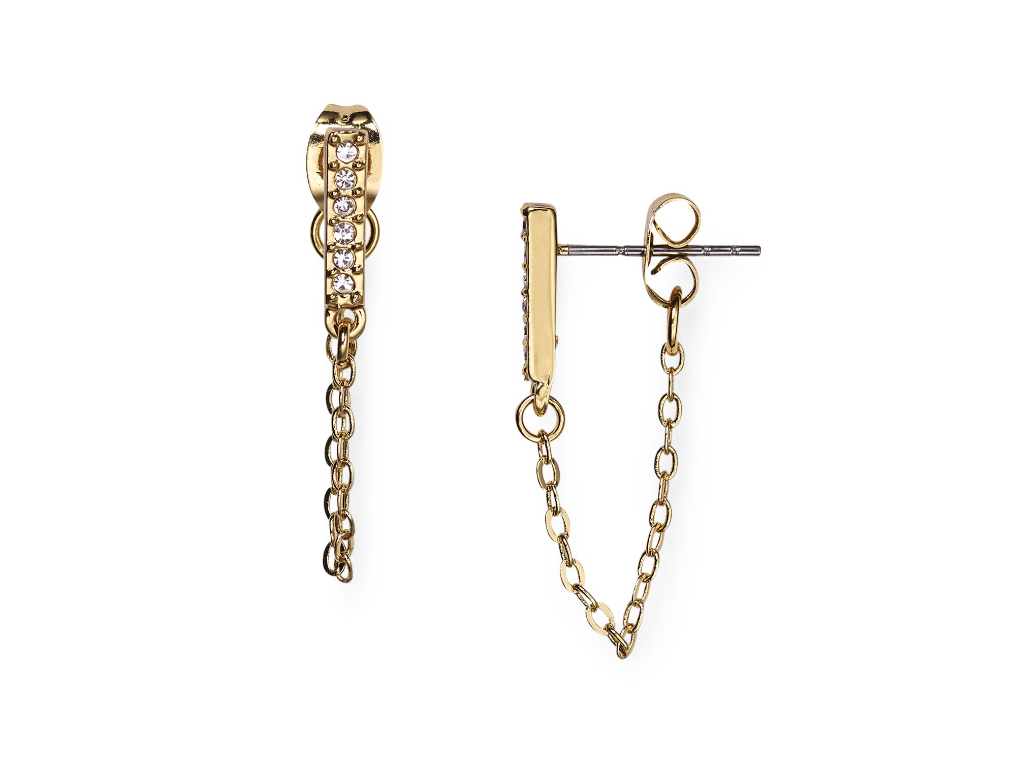 earring studs with loop basement wall studs
