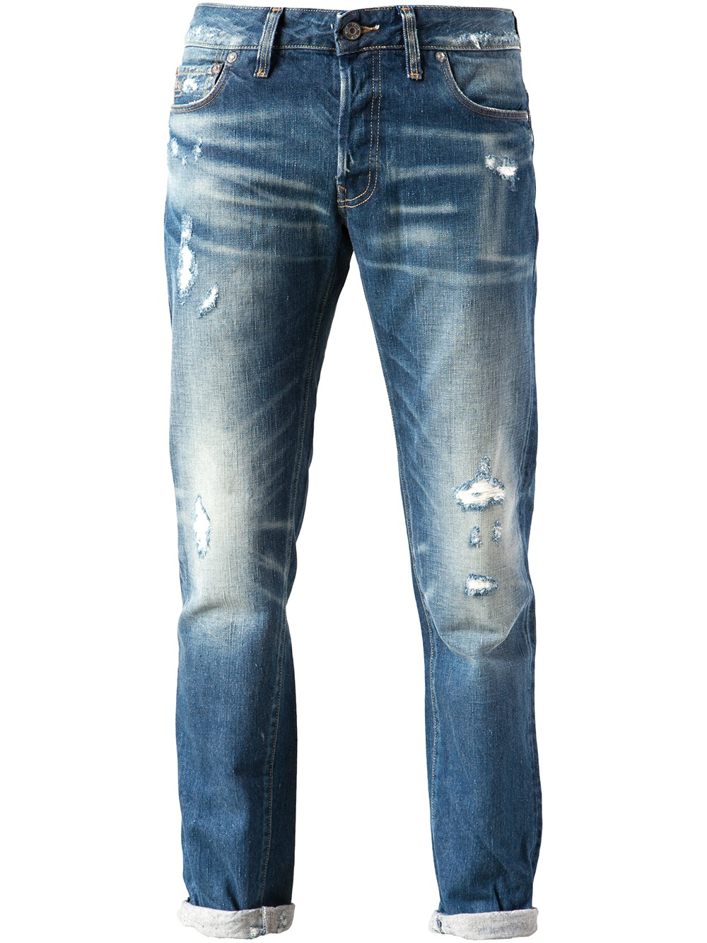 lyst g star raw low tapered jean in blue for men. Black Bedroom Furniture Sets. Home Design Ideas