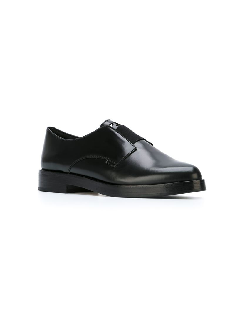 Tory Burch Patent Leather Brogue Oxfords