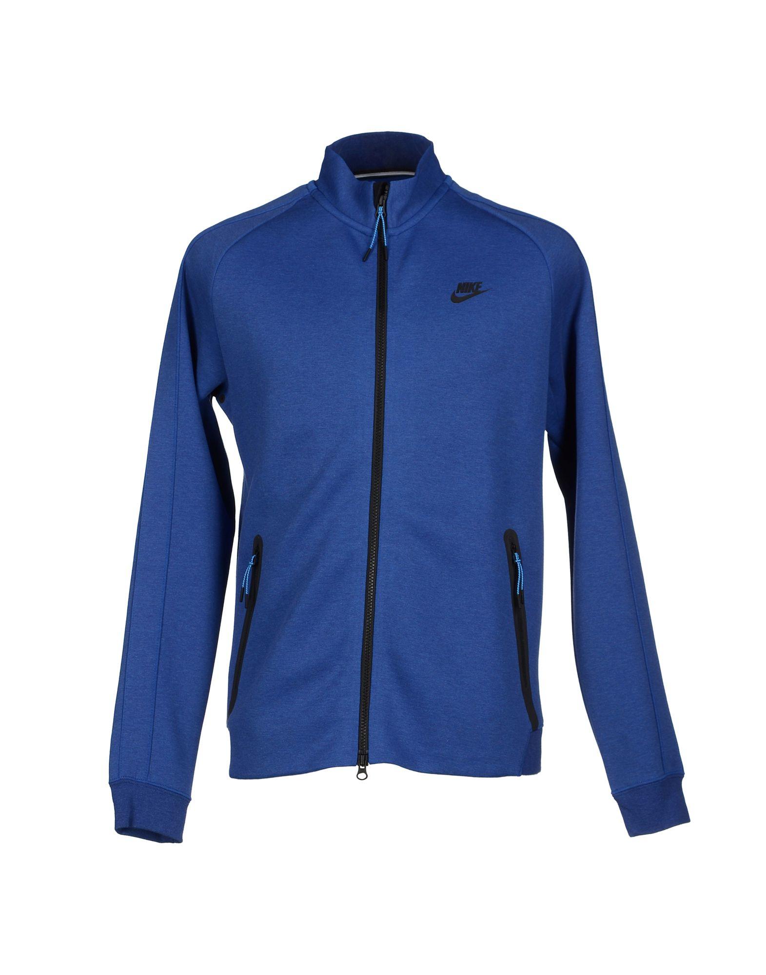 Blue nike hoodies