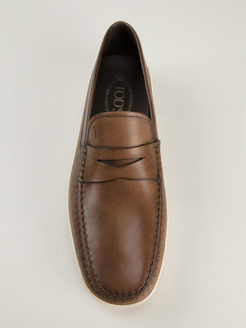 b45cd540ee3 Gallery. Previously sold at  Farfetch · Men s Penny Loafers ...