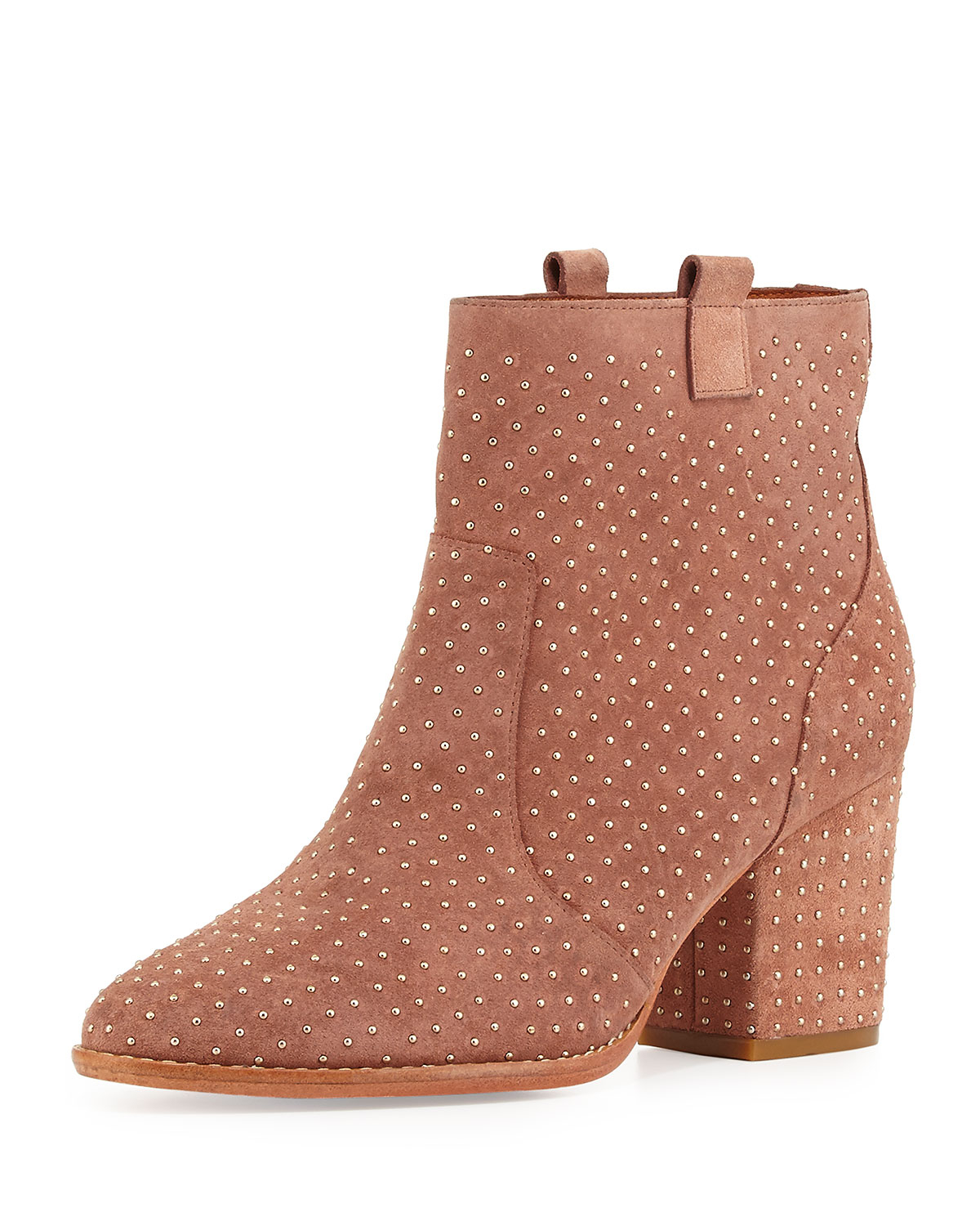 wide range of cheap online Rebecca Minkoff Studded Suede Ankle Boots sale countdown package Kh9vmHg