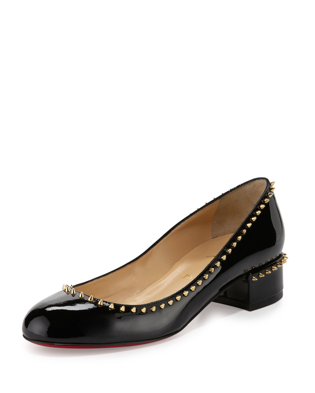cheap christian louboutin shoes fake - Christian louboutin Treliliane Patent-Leather Pumps in Black   Lyst