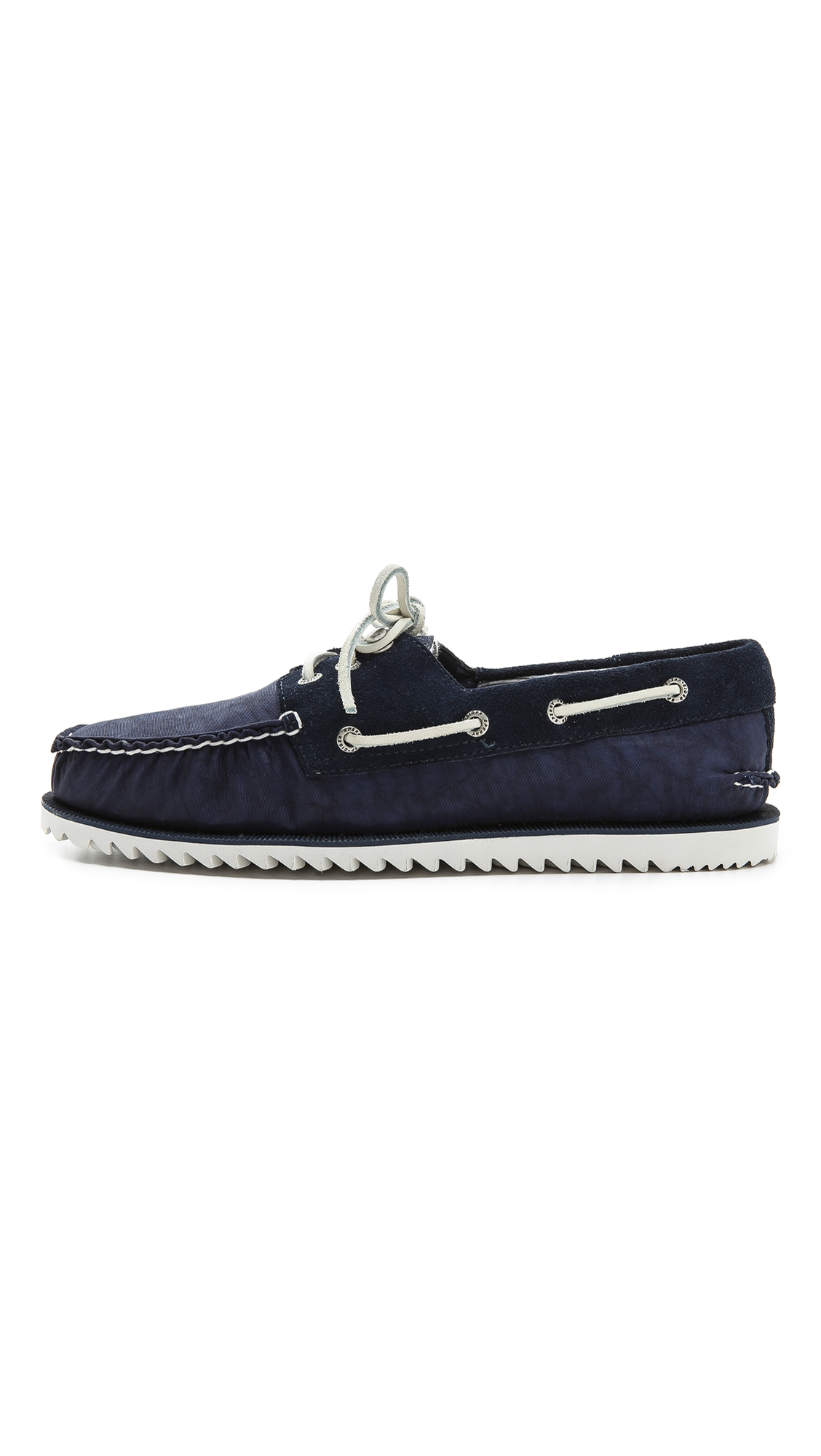 Sperry top sider razorfish boat shoes in blue for men lyst for Best boat shoes for fishing