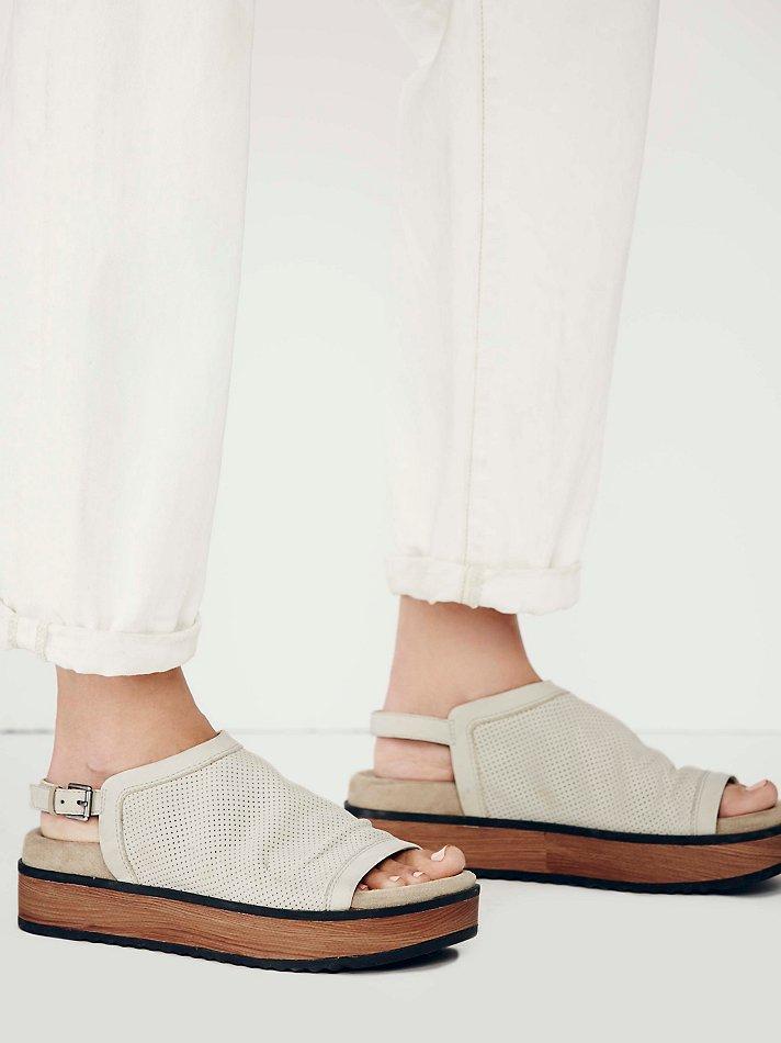 Lyst Free People Naya Womens Hayden Flatform Sandal In Brown
