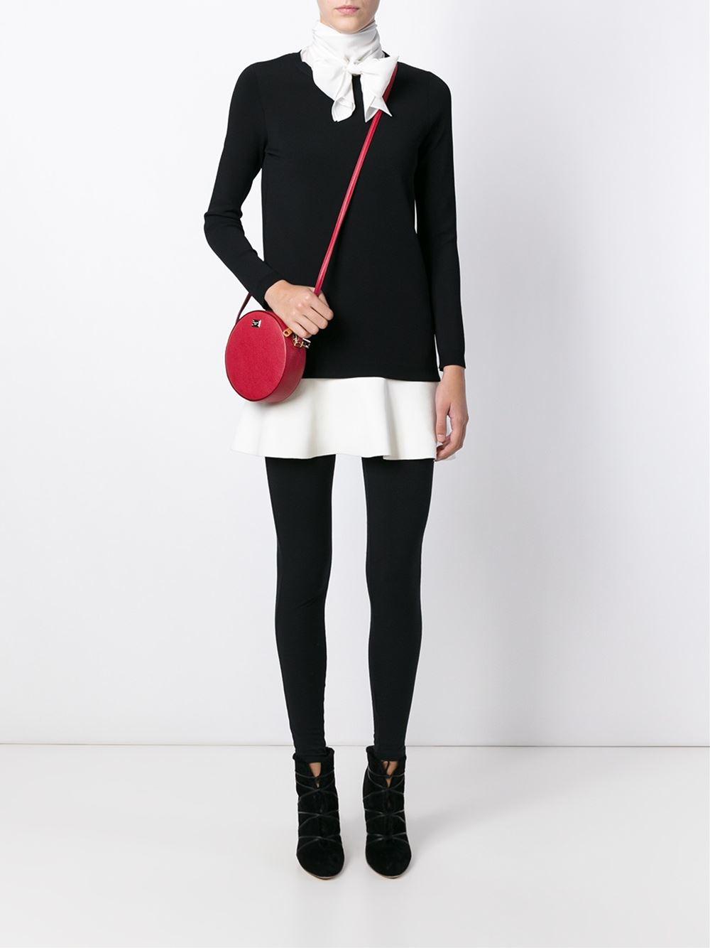 6a4d78b13e Dolce   Gabbana Anna Mini Bag in Red - Lyst