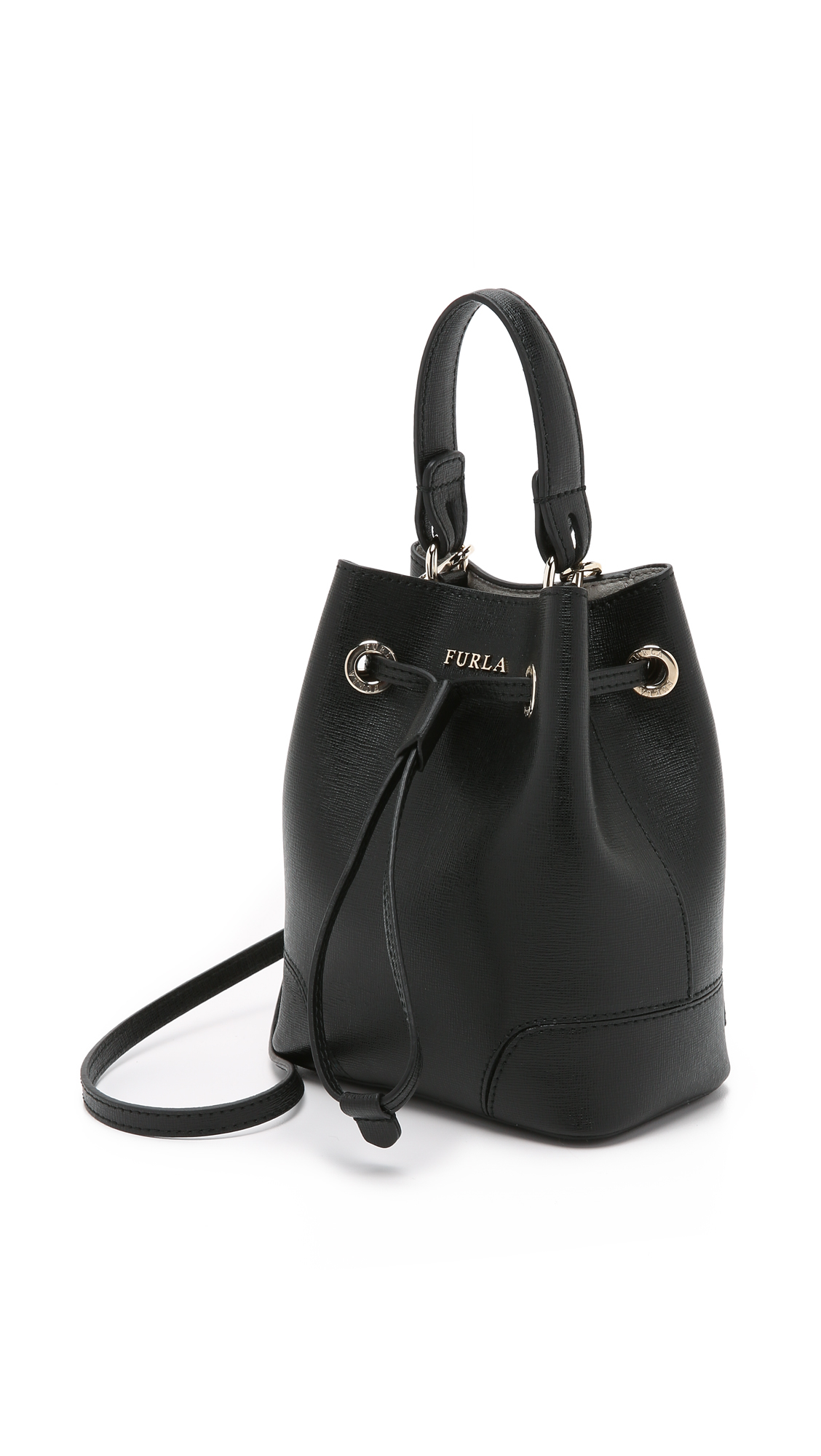 Prices mini Stacy bucket bag - Black Furla High Quality Cheap Price Ost Release Dates Clearance Eastbay hR7lvzi