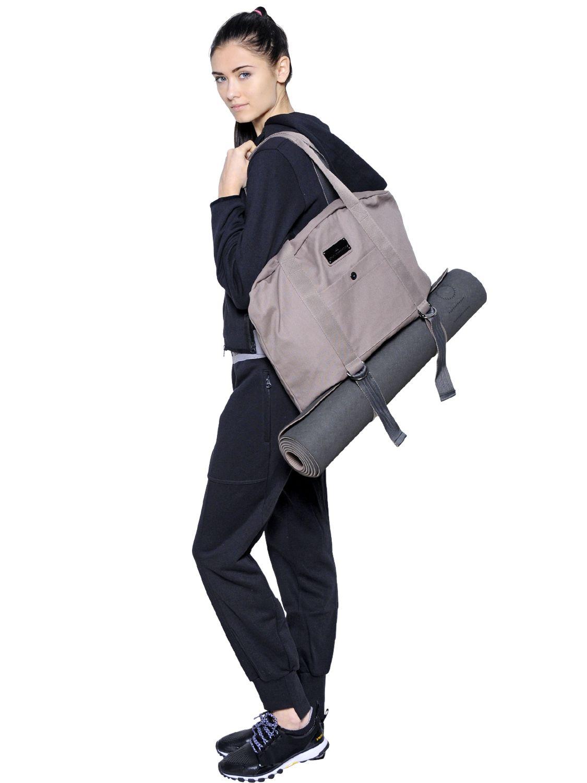2a00e2bfd3e5 Lyst - adidas By Stella McCartney Yoga Shoulder Bag in Gray