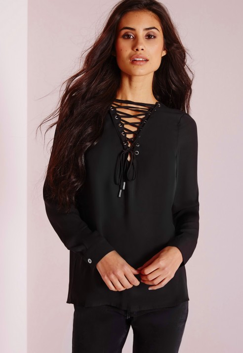 Black On Up Blouse - My Blouses