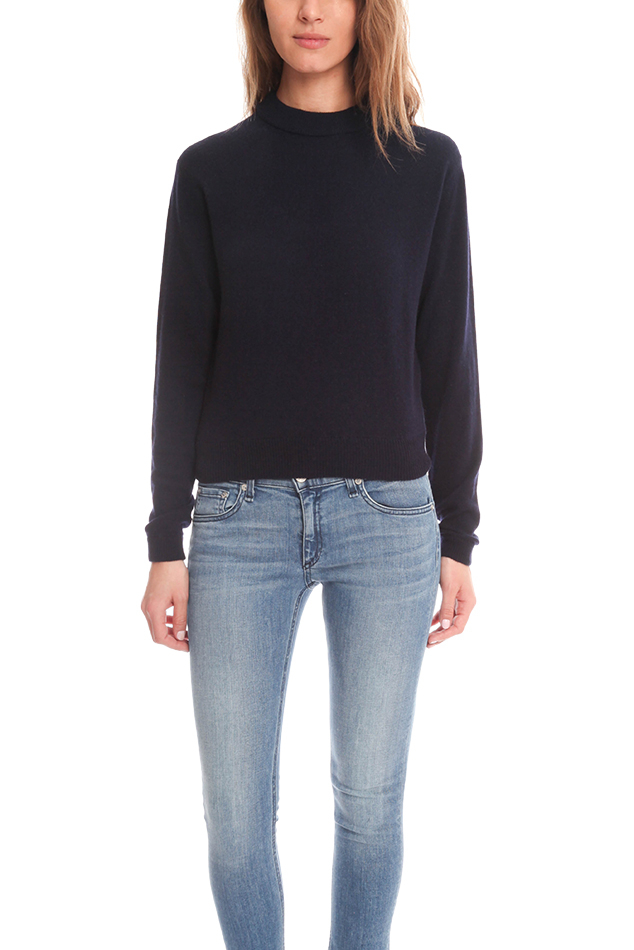 lyst acne studios dream cashmere sweater in blue. Black Bedroom Furniture Sets. Home Design Ideas