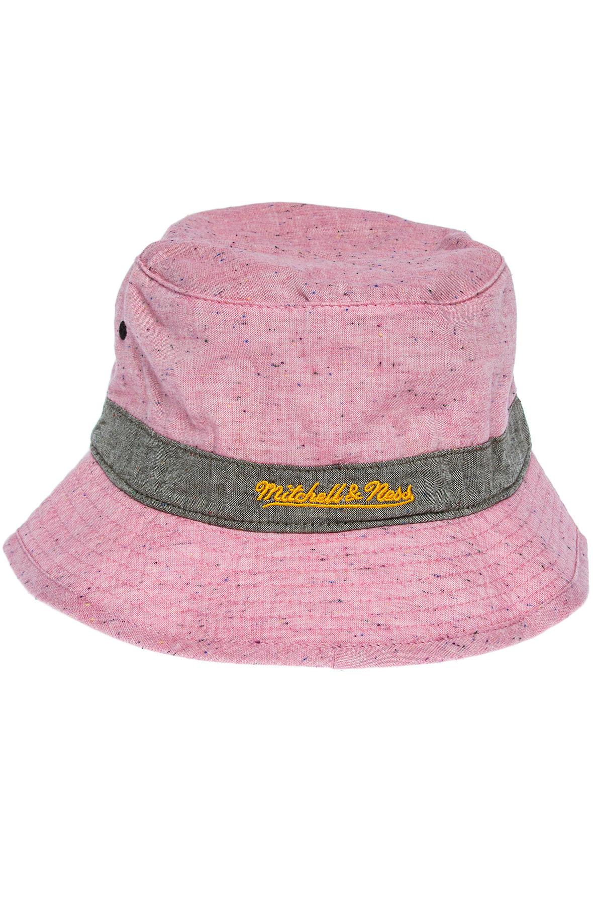 Lyst - Mitchell   Ness The Miami Heat Lawn Bucket Hat in Pink for Men 7f7386f0da70