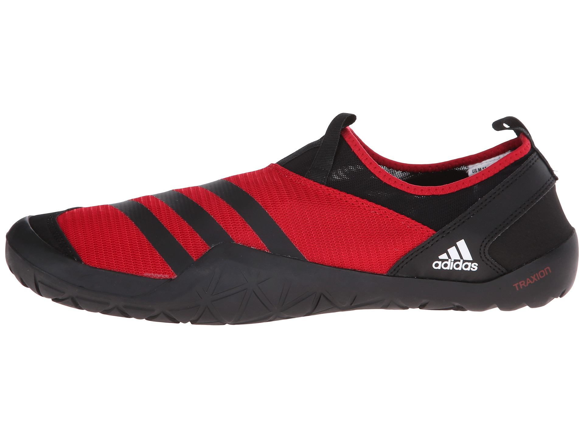 Lyst - adidas Originals Climacool® Jawpaw Slip-on in Red for Men 906205aeb4b4