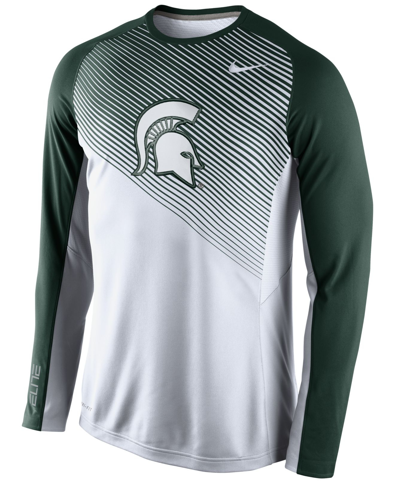 Lyst Nike Men S Long Sleeve Michigan State Spartans Fearless