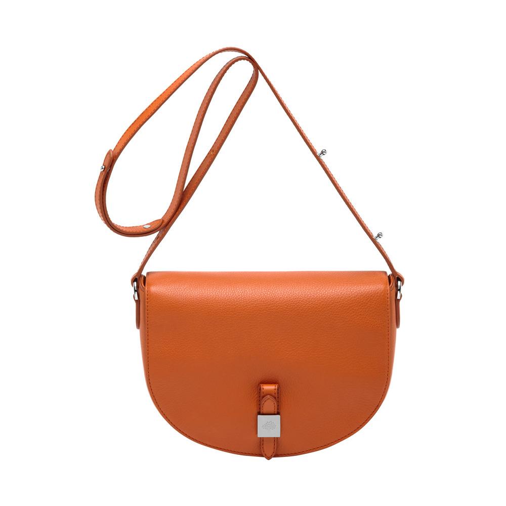 0aa0b274c155 Lyst - Mulberry Tessie Satchel in Orange